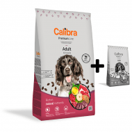 Calibra Dog Premium Line Adult Beef 12 kg NEW + 3 kg ZDARMA