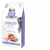 Brit Care Cat Grain-Free Sterilized & Weight Control 7kg