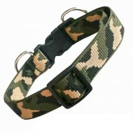Obojek nylon ARMY 24mm x 40-60cm Topas