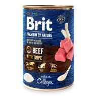 Brit Premium by Nature Beef with Tripes 400g (5+1)