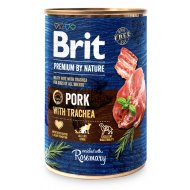 Brit Premium by Nature Pork with Trachea 400g (5+1)