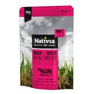 Nativia Real Meat Beef & Rice 1kg